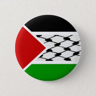 Palestine Keffiyeh Flag 6 Cm Round Badge