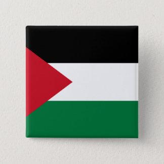 Palestine, Palau flag 15 Cm Square Badge