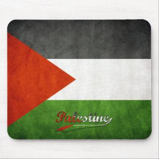 Palestine Retro Flag Mouse Pad