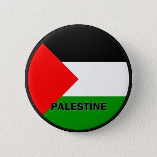 Palestine Roundel quality Flag 6 Cm Round Badge
