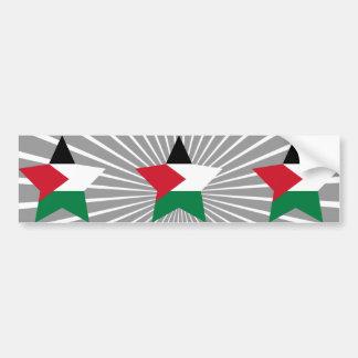 Palestine Star Bumper Sticker