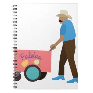 Paletas Ice Cream Notebooks