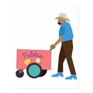 Paletas Ice Cream Postcard