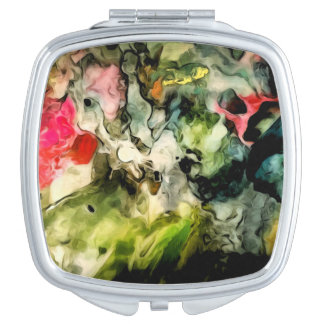 Palette Abstract Pattern Vanity Mirrors