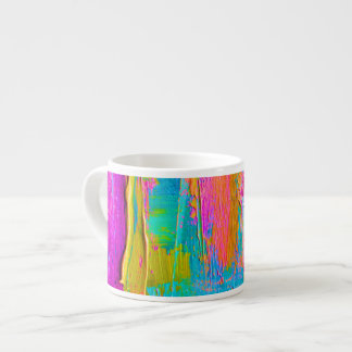 Palette Knife Abstract Painting Espresso Mug