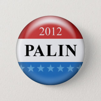 Palin 2012 6 cm round badge
