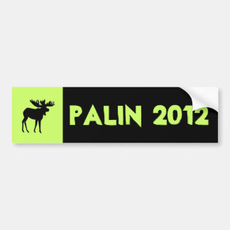 Palin 2012 Bumper sticker