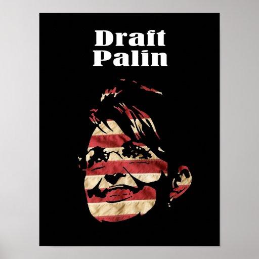 Palin 2012 - Draft Palin Poster