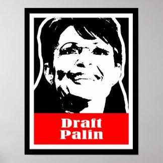 Palin 2012 - Draft Palin Print