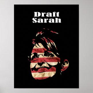 Palin 2012 - Draft Sarah Posters
