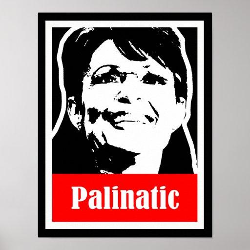Palin 2012 - Palinatic Print