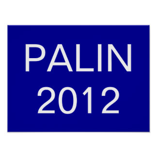 PALIN, 2012 POSTERS