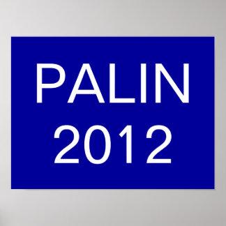PALIN, 2012 POSTER