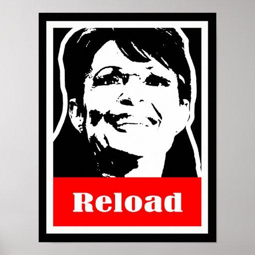 Palin 2012 - Reload Poster