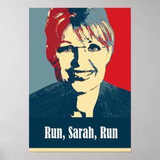 Palin 2012 - Run, Sarah, Run Posters