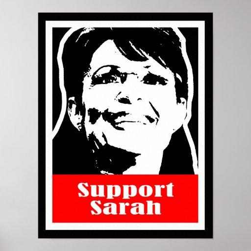 Palin 2012 - Support Sarah Print