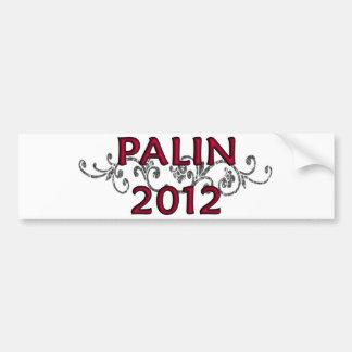 Palin 2012 Vine Bumpersticker Bumper Sticker