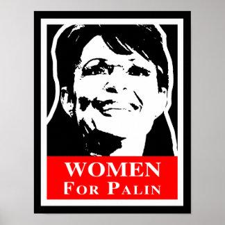 Palin 2012 - Women for Palin Poster