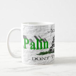 PALIN 2016 Mug, Light Green 3D, White Gadsden