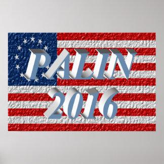 PALIN 2016 Poster, Powder Blue 3D, Betsy Ross