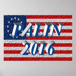 PALIN 2016 Poster, Sea Blue 3D, Betsy Ross