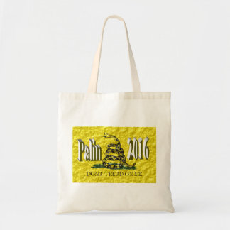 PALIN 2016 Tote Bag, Brown 3D, Gadsden
