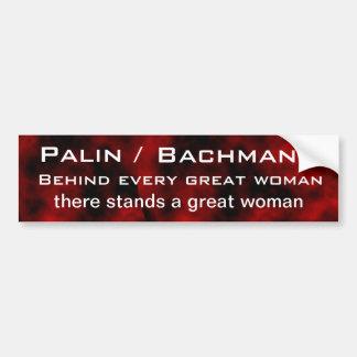 Palin / Bachmann Bumper Sticker