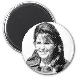 Palin Face 6 Cm Round Magnet