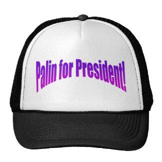 Palin for President! Trucker Hats