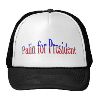Palin for President! Hats