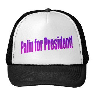 Palin for President! Mesh Hats