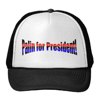 Palin for President! Mesh Hat