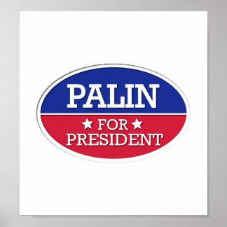 Palin for President Poster