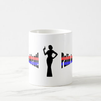 Palin for President Red n blue Mugs