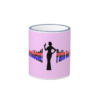 Palin for President Red n blue Mug