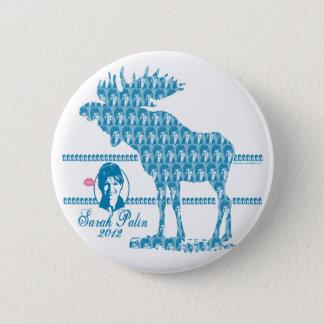 Palin Moose 2012 Button