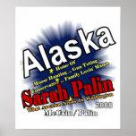 Palin Moose Hunting Mama Posters