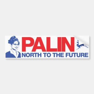 Palin 'North to the Future' Bumper Sticker