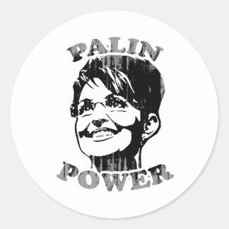 Palin Palin Power Faded.png Sticker