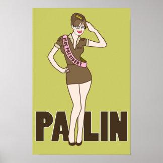 Palin Pinup Poster