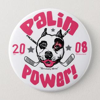 Palin Power 2008 10 Cm Round Badge