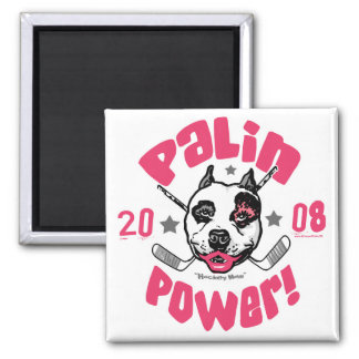Palin Power 2008 Square Magnet