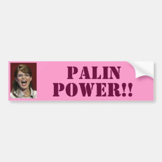 Palin Power!! - Bumper Sticker