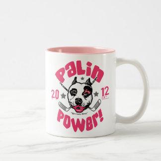 Palin Power Pit Bull 2012 Mug