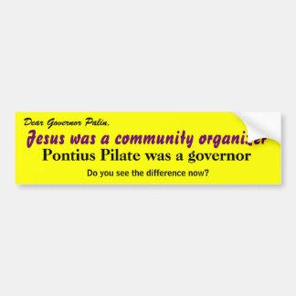Palin Primer - Bumper Sticker
