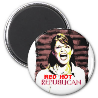 Palin RED HOT Magnet