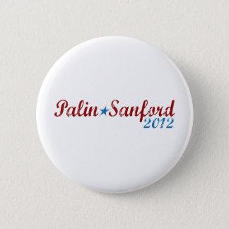 palin sanford 2012 6 cm round badge