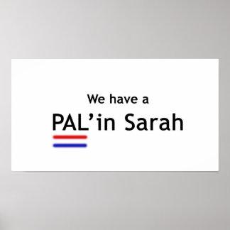 PAL'in Sarah Poster