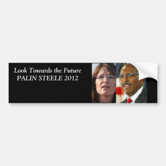 Palin Steele 2012 Car Bumper Sticker