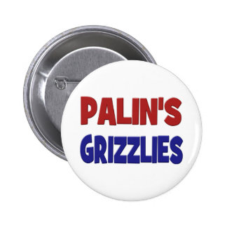 PALIN'S GRIZZLIES Button